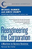 Book Cover: Reengineering The Corporation: A Manifesto For Business Revolution by James Champy