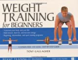 Weight Training for Beginners - book cover picture