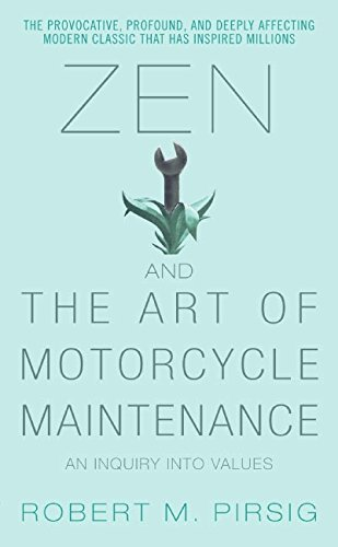 Zen and the Art of Motorcycle Maintenance Book Cover Picture