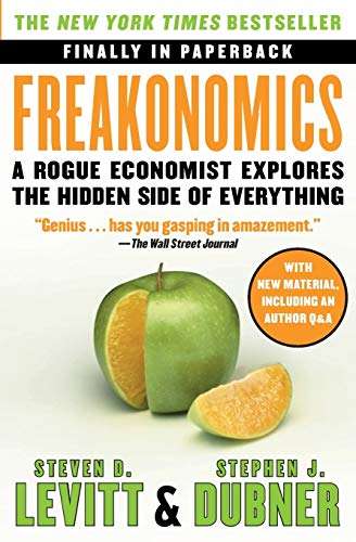Freakonomics Book Cover Picture
