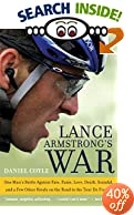 cover of book: lance armstrong's war