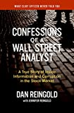 Buy Confessions of a Wall Street Analyst : A True Story of Inside Information and Corruption in the Stock Market from Amazon