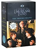 The Trouble Begins: The Wide Window, The Reptile Room, The Bad Beginning (A Series of Unfortunate Events)