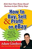 How to Buy, Sell, & Profit on eBay: Kick-Start Your Home-Based Business in Just Thirty Days - book cover picture