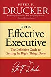 Book Cover: The Effective Executive by Peter F. Drucker