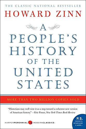 A People's History of The United States 1492- Present Book Cover Picture