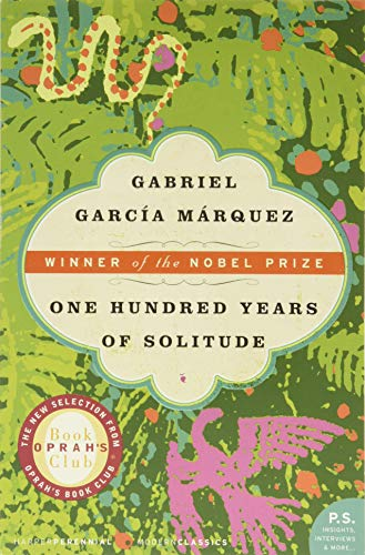 5. One Hundred Years of Solitude by Gabriel García Márquez (1967)