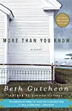 More Than You Know: A Novel - book cover picture