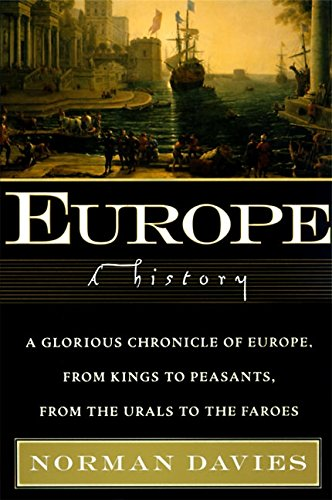Europe: A History Book Cover Picture
