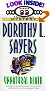 Unnatural Death by  Dorothy L. Sayers (Author) (Mass Market Paperback - August 1995)