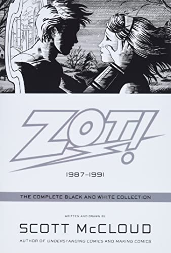 Zot!: The Complete Black and White Collection: 1987-1991 cover