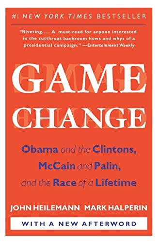 Game Change Book Cover Picture