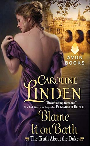 Caroline Linden - Blame it On Bath (again, undressing, from the back, no bra)