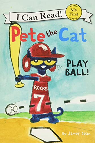 Pete The Cat, Play Ball by James Dean