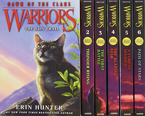Warriors: Dawn of the Clans Box Set: Volumes 1 to 6 - Erin Hunter