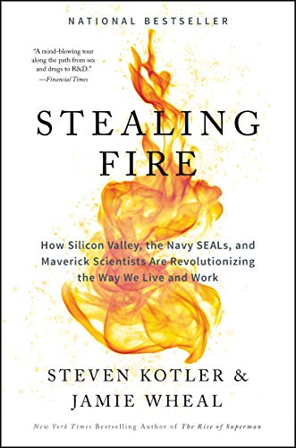 Stealing Fire: How Silicon Valley, the Navy SEALs, and Maverick Scientists Are Revolutionizing the Way We Live and Work - Steven Kotler, Jamie Wheal