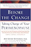 Before the Change: Taking Charge of Your Perimenopause - book cover picture