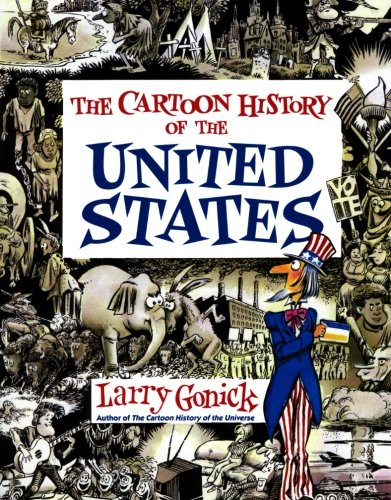 Cartoon History of the United States Book Cover Picture