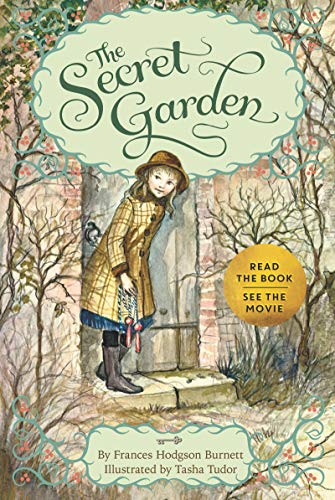 The Secret Garden Chapter Book by Frances Hodgson Burnett