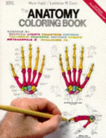 The Anatomy Coloring Book, 2nd Edition, Kapit, Wynn; Elson, Lawrence M.