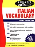 Schaum's Outline of Italian Vocabulary - book cover picture