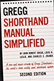 The GREGG Shorthand Manual Simplified - book cover picture