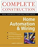 Home Automation & Wiring - book cover picture
