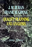 Buy Quality Planning and Analysis: From Product Development Through Use from Amazon