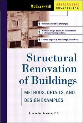 Structural Renovation of Buildings: Methods, Details, & Design Examples - Alexander Newman