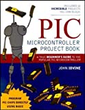 PIC Microcontroller Project Book - book cover picture