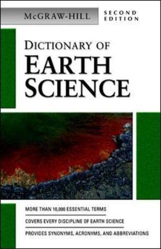 Dictionary of earth science for Geology dictionary
