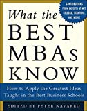 Buy What the Best MBAs Know from Amazon