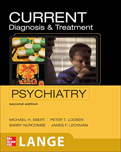 Book cover for Current diagnosis & treatment in psychiatry