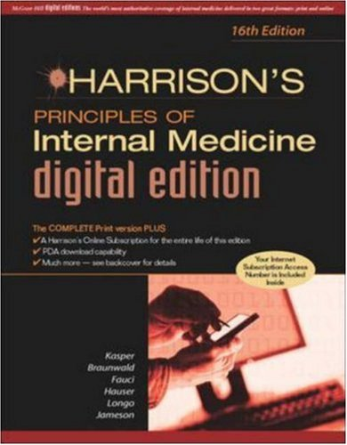 Harrison's Principles of Internal Medicine, 16/e Digital Edition
