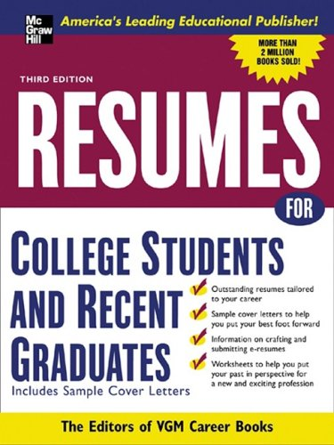 good resumes for college students. Resumes for college students