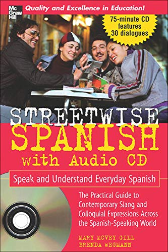 Streetwise Spanish (Book + 1CD) (Streetwise (Mcgraw Hill))
