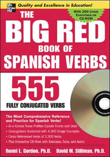 The Big Red Book of Spanish Verbs (Book w/CD-ROM) (Big Book of Verbs Series)