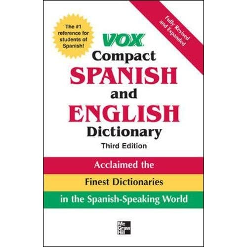 Vox Compact Spanish and English Dictionary, 3E (Vinyl) (Vox Dictionary Series) Vox