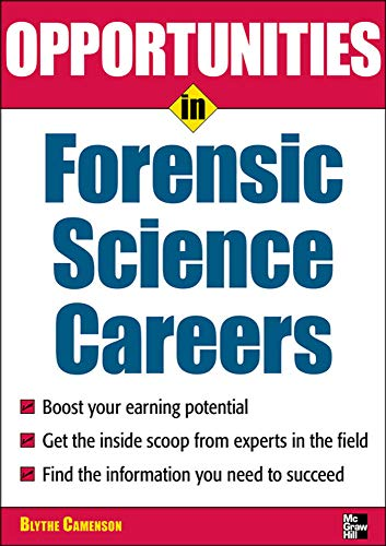 an overview of the lawyer and forensic scientist careers Those in the forensic science profession may be engaged in criminalistics, digital   understand how law and science intersect, and review the fundamentals of.