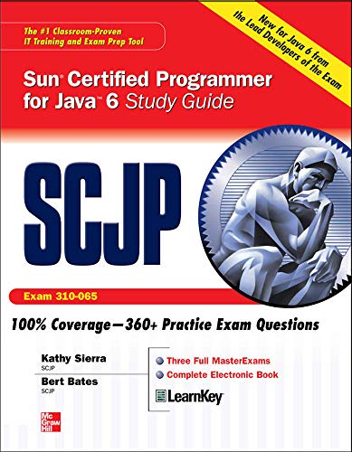 SCJP Sun Certified Programmer for Java 6 Exam 310-065