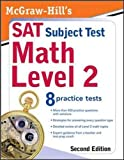 McGraw-Hill's SAT Subject Test: Math Level 2, Second Edition, Diehl, John