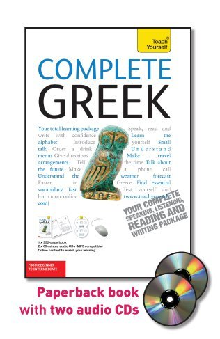 Pdf teach yourself complete greek from beginner to intermediate author teach yourself category do it yourself language english page 351 isbn 0071627901 solutioingenieria Image collections