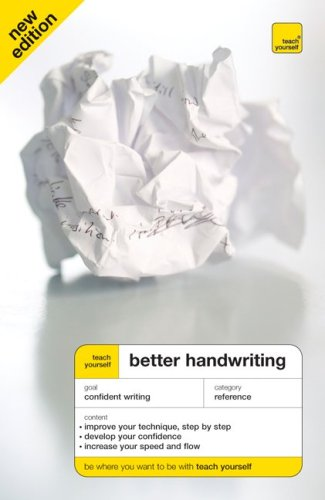 Teach Yourself Better Handwriting, New Edition (Teach Yourself: Games/Hobbies/Sports), Sassoon, Rosemary