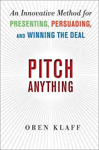 264. Pitch Anything: An Innovative Method for Presenting, Persuading, and Winning the Deal