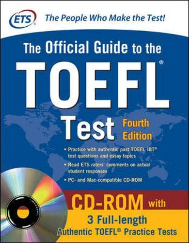 Official Guide to the TOEFL Test With CD-ROM, 4th Edition (Official Guide to the Toefl Ibt) - Educational Testing Service