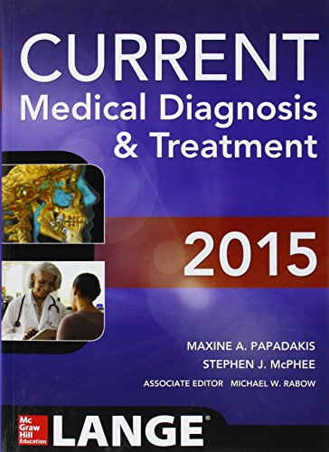2015 CURRENT MEDICAL DIAGNOSIS & TREATMENT, 54ED