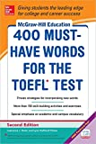 400 Must-Have Words for the TOEFL by Lynn Stafford-Yilmaz, Lawrence Zwier