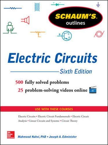 electric circuits 10th edition solutions manual pdf