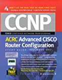 CCNP Advanced CISCO Router Configuration Study Guide : (Exam 640-403) - book cover picture
