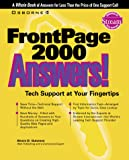 FrontPage 2000 Answers! - book cover picture